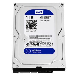 WD 西部数据 蓝盘 WD10EZEX 机械硬盘 1TB / 2TB