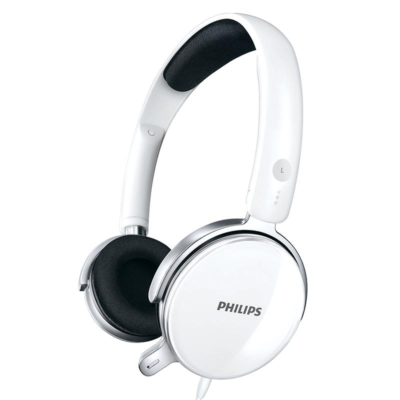PHILIPS 飞利浦  SHM7110U 耳机 (通用、头戴式、32Ω、白色)