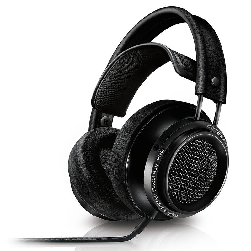 PHILIPS 飞利浦 X2HR 耳机 (通用、头戴式、30Ω、黑色)