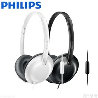 PHILIPS 飞利浦 SHL4405 耳机 (通用、头戴式、24Ω、黑色)