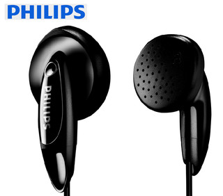 PHILIPS 飞利浦 SHE1350/00 耳机 (通用、入耳式、黑色)