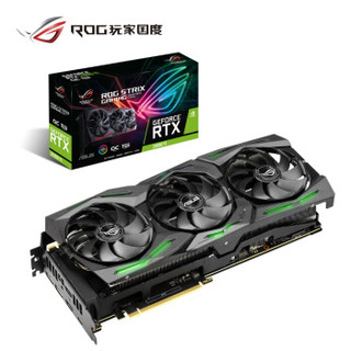 ASUS 华硕 ROG-STRIX-GeForce RTX2080 TI-O11G-GAMING 显卡