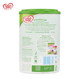 Cow&Gate 牛栏 婴幼儿奶粉1段 800g*4罐(0-6个月)
