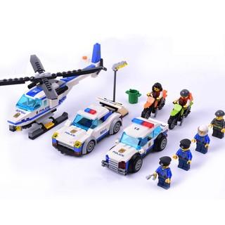 GUDI 古迪 城市警察系列 9308/9308A/9311 警察出动 拼装积木