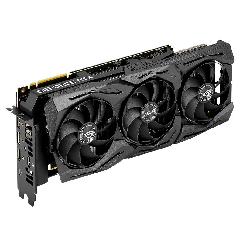 ASUS 华硕 ROG STRIX-GeForce RTX2080 TI-A11G-GAMING 显卡 11GB