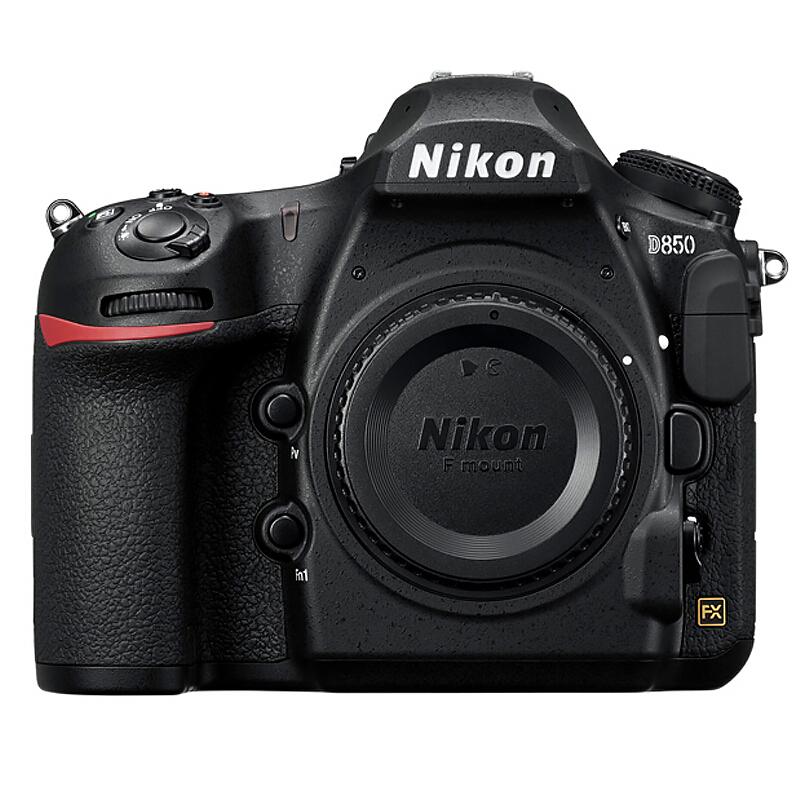 Nikon 尼康 D850 全画幅 数码单反相机 黑色 单机身