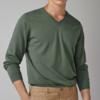 Massimo Dutti 00949224514 男士纯棉V领针织衫 150元