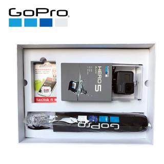 GoPro HERO 5 BLACK 运动相机 臻享礼盒