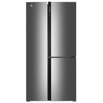 KINGHOME 晶弘 BCD-490WPDCL 490升 变频无霜 T字对开门冰箱