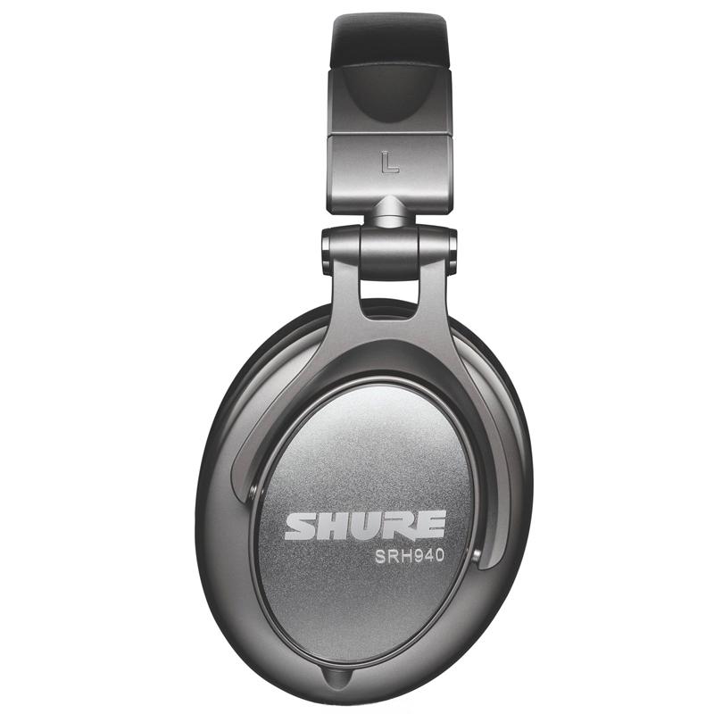 SHURE 舒尔 SRH940 耳机 (通用、动圈、头戴式、42Ω、黑色)