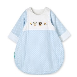 PurCotton 全棉时代 婴儿纱布侧开睡袋
