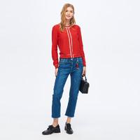 PRICH PRKC85101M1 女士圆领针织衫 红色 160