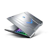 MACHENIKE 机械师 15.6英寸笔记本 (i7-8750H、8G、256GB、GTX1050 Ti 4G) 星空银