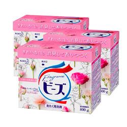 kao 花王 含天然柔顺剂 洗衣粉 800g*3盒