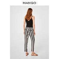 MANGO 33070558 女士系带宽松休闲长裤