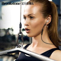 Brookstone FT4 无线蓝牙耳机 (通用、后挂式、金色)