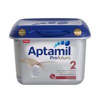 Aptamil 爱他美 新白金版 较大婴儿奶粉 2段 800g *2件