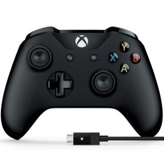 双11预售 : Microsoft 微软 Xbox One 游戏手柄+PC连接线
