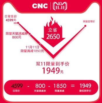 CNC  J65U916  65英寸 4k 平板电视机