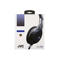 JVC 杰伟世 HA-SS02 耳机 (通用、头戴式、1000mW、黑+土豪金 )