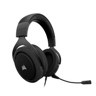 CORSAIR 美商海盗船  HS50 耳机 (动圈、头戴式、黑色)