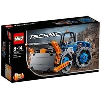 LEGO 乐高 Technic 机械组系列 42071 推土压路机