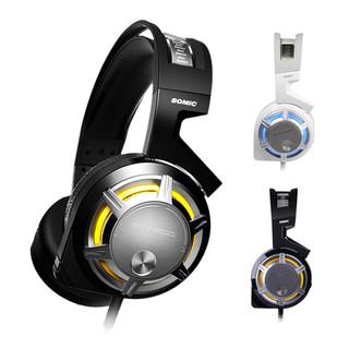SOMiC 硕美科 G926 耳机 (通用、头戴式、32Ω、黑色)
