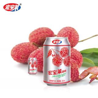 宏宝莱 荔枝味汽水 330ml*12罐