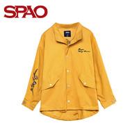 SPAO SPJJ748H53 女士字母刺绣夹克外套