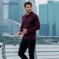 NAUTICA 诺帝卡 NA002617  男士长袖POLO衫