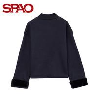 SPAO SPMW74VS82 女士字母套头长袖卫衣