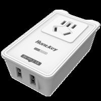 Huntkey 航嘉 PSE006 新国标多口USB插座