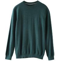 棉先生 287805001 男士圆领羊毛针织衫