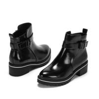 DAPHNE 达芙妮 vivi系列 1016605711 女士圆头短靴