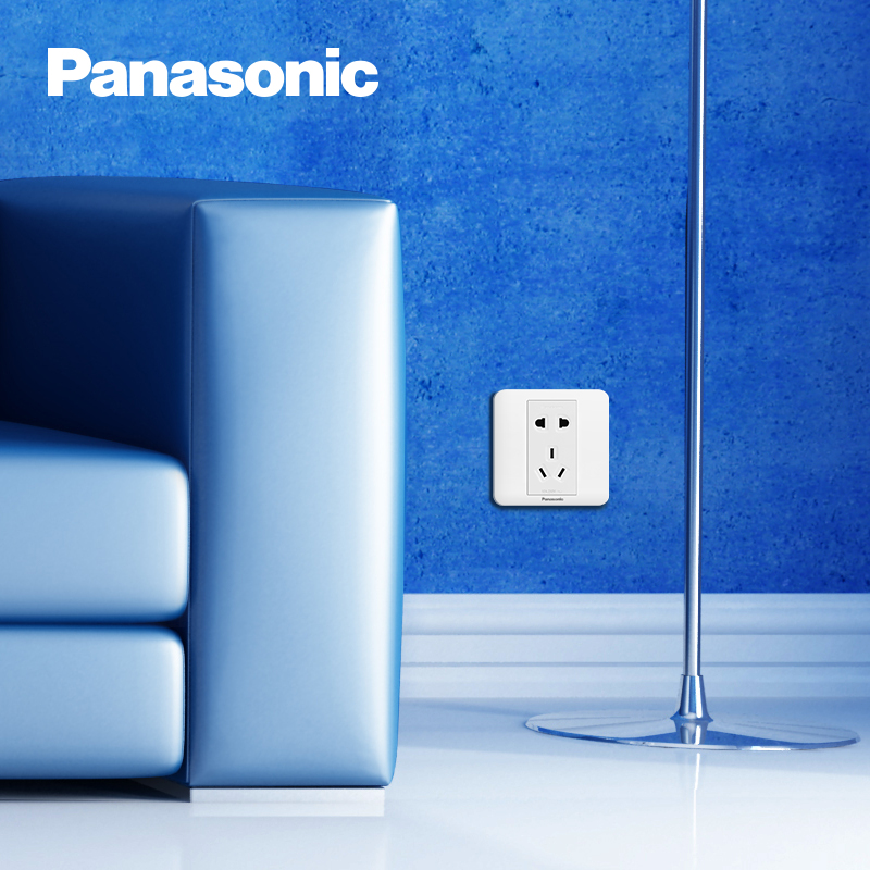 Panasonic 松下 智趣 五孔插座面板86型
