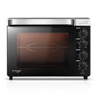 长帝 CRTF32K搪瓷烤箱家用烘焙多功能全自动小型电烤箱32升大容量