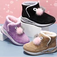 Mutong 牧童 儿童雪地靴加绒