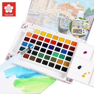 SAKURA 樱花 NCW-24H 泰伦斯固体水彩颜料 24色