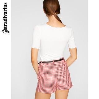 stradivarius 02526467003 女士修身打底衫