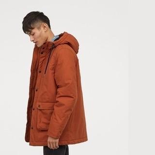 H&M HM0495884 男士加厚派克大衣