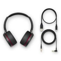 SONY 索尼 MDR-XB950B1 耳机 (头戴式、可切换、32Ω、黑色、蓝色、红色)