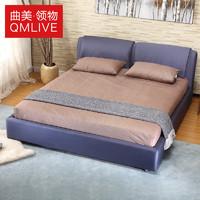 QM 曲美家居 领物 15LW-S6-B2 床 (经济型、人造板)
