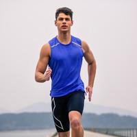 2XU 精英慢跑系列 男士运动背心T恤 MZC01124
