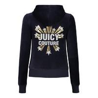 Juicy Couture 橘滋 JCWTKJ102372I2 女士天鹅绒卫衣外套