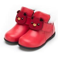 斯乃纳 女童真皮软底小皮鞋