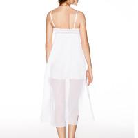 ManiForm 曼妮芬 女士长款沙滩裙 白色