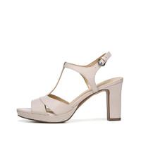 naturalizer 娜然 女士 凉鞋 丁字式扣带 时装凉鞋 NLI83C03J81003 米白色、39