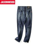 JASONWOOD 381817241 男士基础百搭水洗牛仔裤