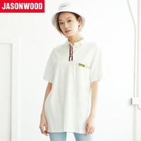 JASONWOOD 282103519 女士纯棉短袖T恤