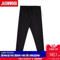 JASONWOOD 271118202 男士时尚休闲裤 黑色 S